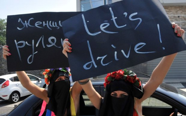 women-drive